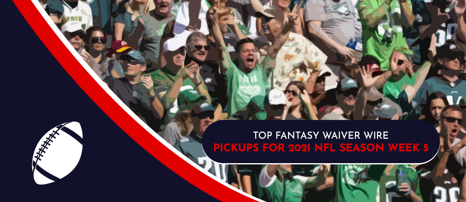 Top Fantasy Waiver Wire Pickups for 2021 NFL Week 5