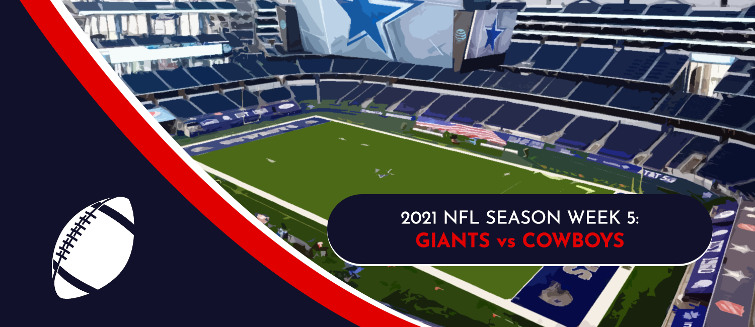 Giants vs. Cowboys 2021 NFL Week 5 Odds, Preview and Pick