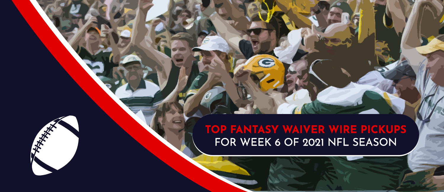 Top Fantasy Waiver Wire Pickups for 2021 NFL Week 6