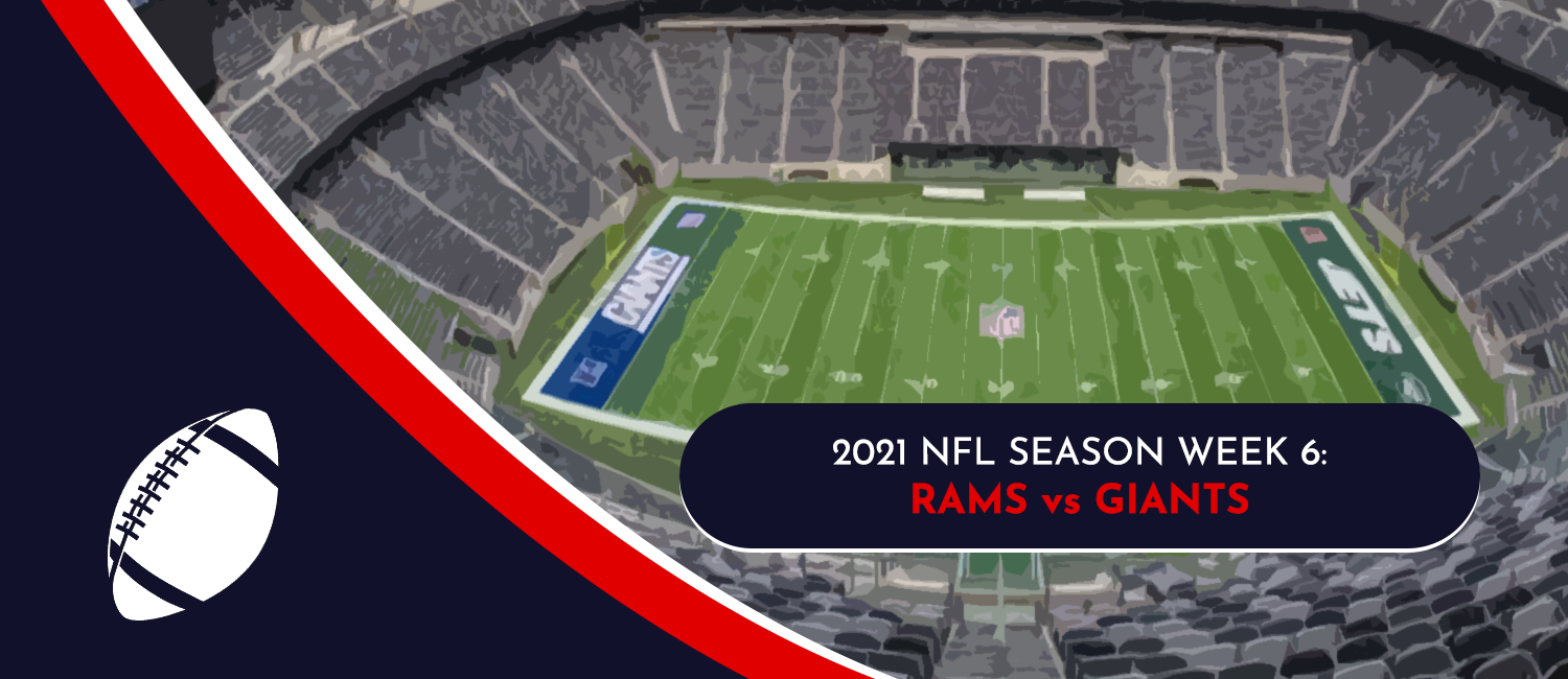 Rams vs. Giants 2021 NFL Week 6 Odds, Preview and Pick