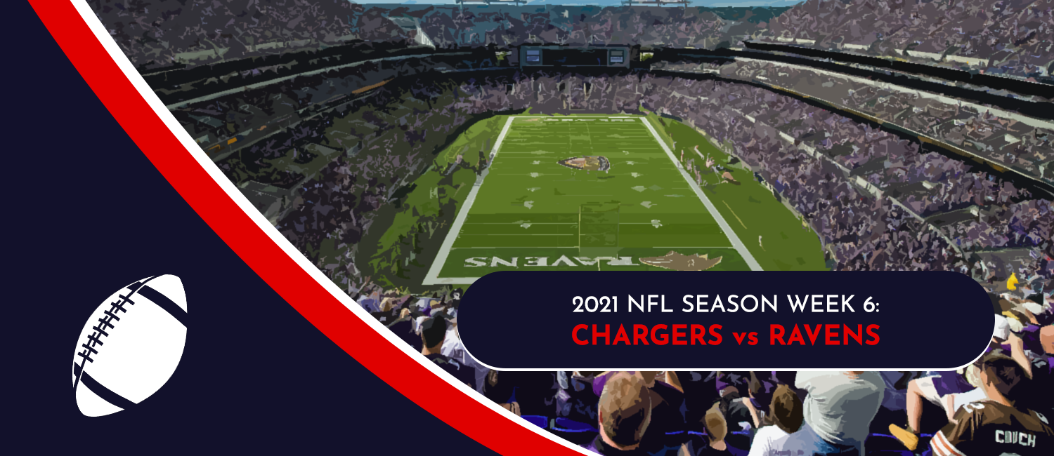 Chargers vs. Ravens 2021 NFL Week 6 Odds, Preview and Pick