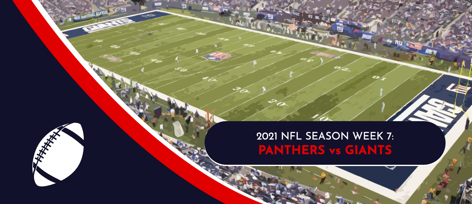 Panthers vs. Giants 2021 NFL Week 7 Odds, Preview and Pick