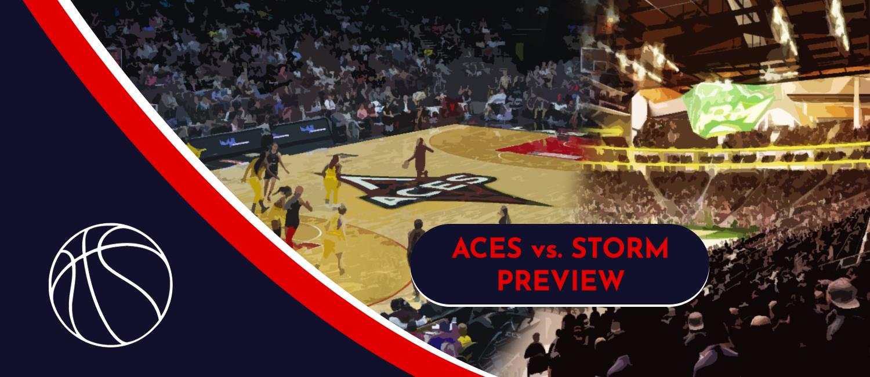2021 WNBA Finals Las Vegas Aces vs. Seattle Storm Future Odds