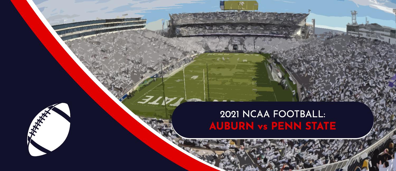 Auburn vs. Penn State 2021 College Football Week 3 Odds and Pick