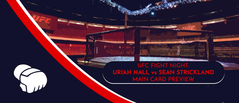 Hall vs. Strickland UFC Vegas 33 Odds and Preview