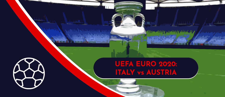 Italy vs. Austria 2020 UEFA Euro Round of 16 Game, Analysis, and Pick