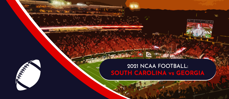South Carolina vs. Georgia 2021 College Football Week 3 Odds and Pick