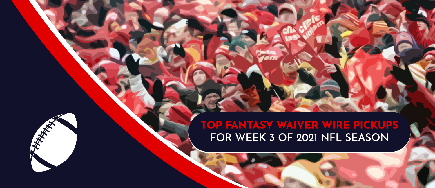 Top Fantasy Waiver Wire Pickups for 2021 NFL Week 3
