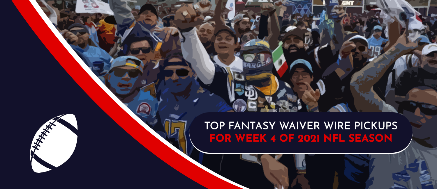 Top Fantasy Waiver Wire Pickups for 2021 NFL Week 4
