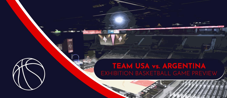 USA vs. Argentina Men's International Basketball Odds, Analysis, and Pick