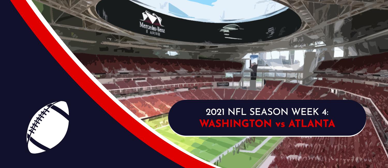 Washington vs. Falcons NFL Week 4 Odds, Analysis and Prediction