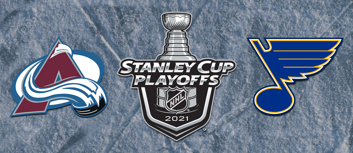Avalanche vs. Blues NHL Playoffs Odds and Game 2 Breakdown -- May 19th, 2021