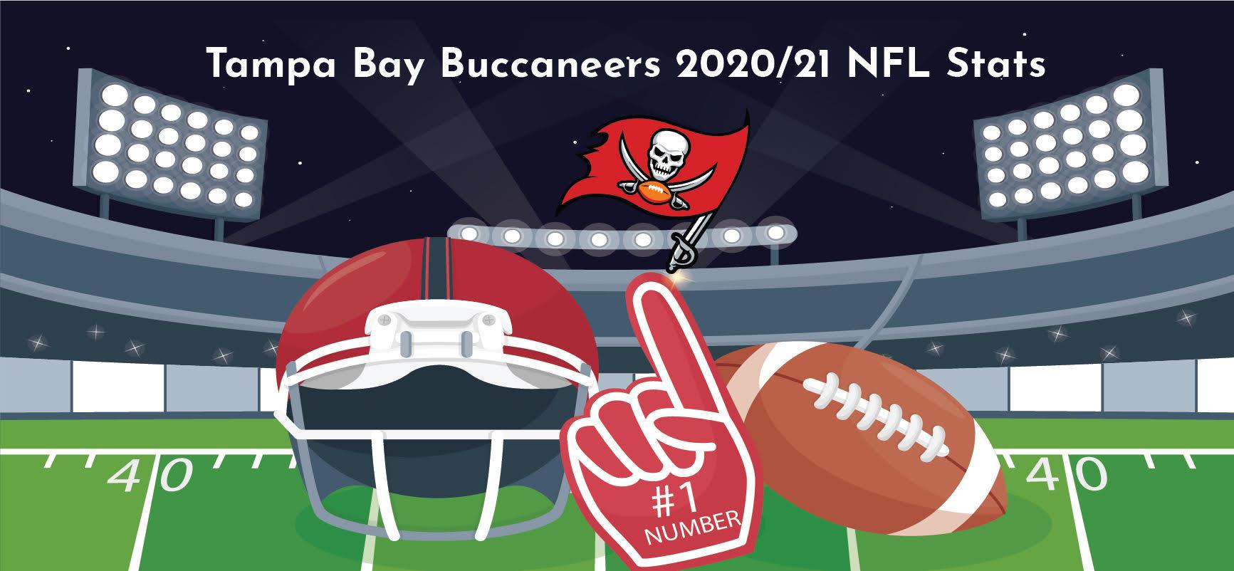 Tampa Bay Buccaneers 2020/21 NFL Season Stats (Infographic)