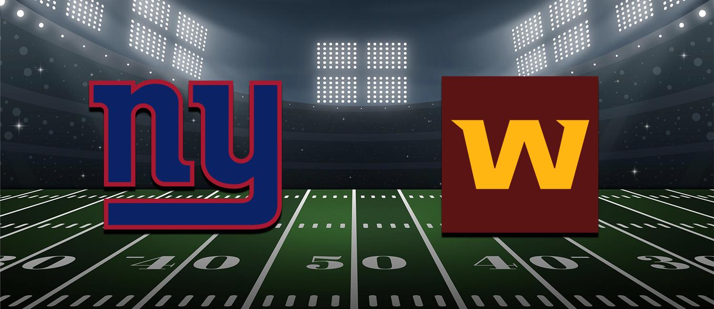 Giants vs Washington 2021 NFL Week 2 Odds, Analysis and Pick